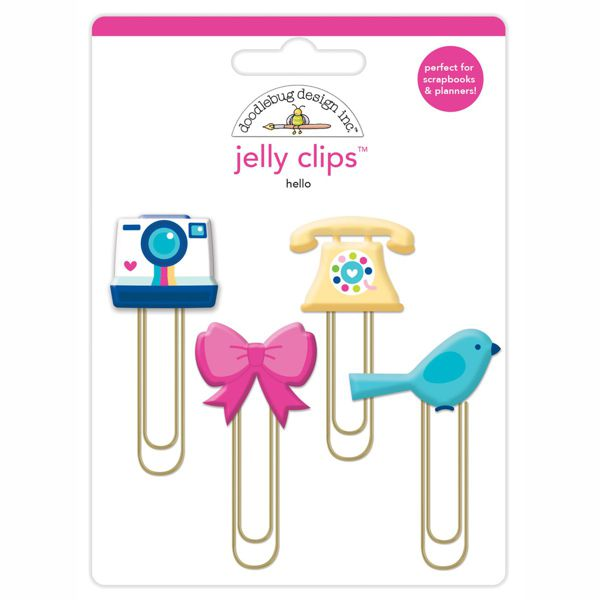 Liebe Papier - Hello - Jelly Clips