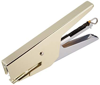 Mini Grampeador Dourado