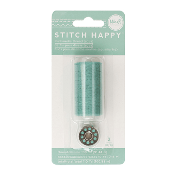Liebe Papier - Stitch Happy - Multimedia Thread - Aqua