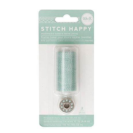 Liebe Papier - Stitch Happy - Multimedia Baker's Twine - Mint