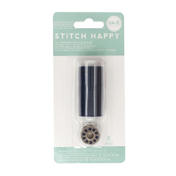 Stitch Happy - Multimedia Thread - Navy