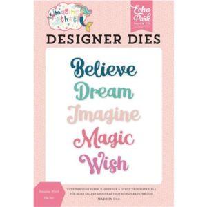 Liebe Papier - Imagine That! - Designer Dies - Imagine World Die Set