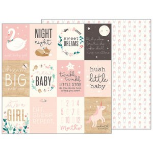 Liebe Papier - Night Night Girl - Sweet Baby Girl