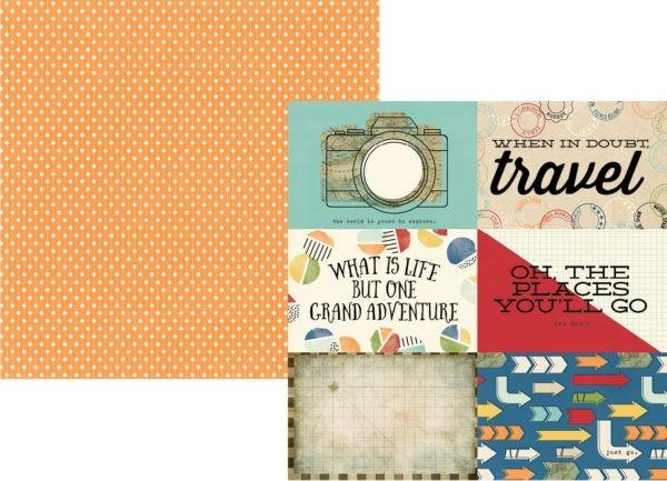 Travel Notes - Horizontal Elements 10 x 15 cm