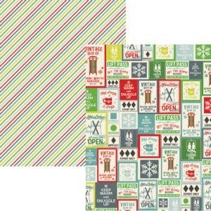 Liebe Papier - Sub Zero - Journaling Cards Elements 7,5 x 10cm