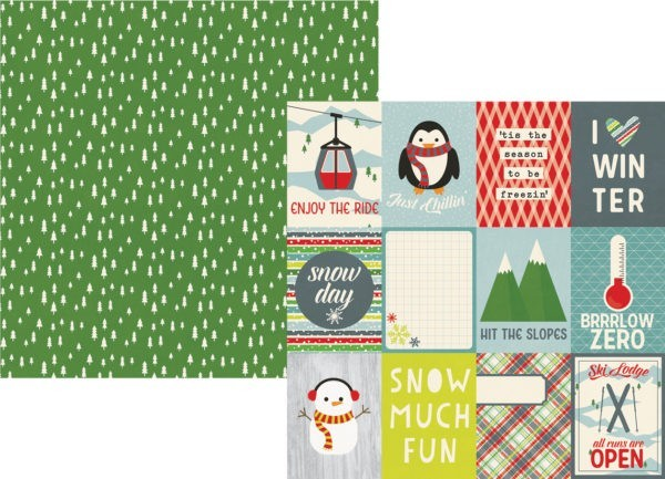 Sub Zero - Journaling Cards Elements 7,5 x 10cm