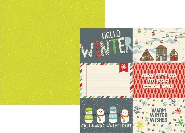 Sub Zero - Journaling Cards Elements 7,5 x 10cm