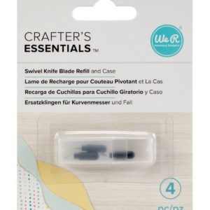 Liebe Papier - Crafter's Essentials - Swivel Knif Blade Refill And Case