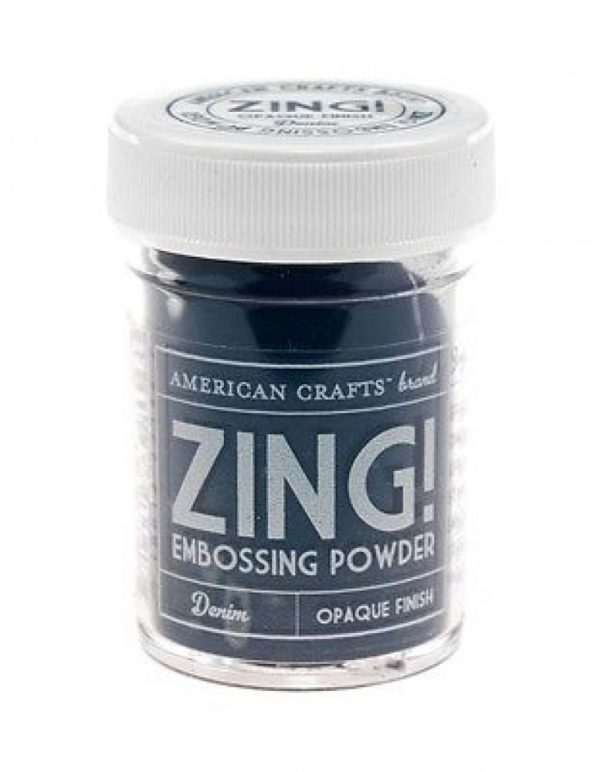 Zing! Embossing Powder - Red - Glitter Finish