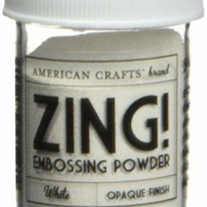 Liebe Papier - Zing! Embossing Powder - Red - Glitter Finish