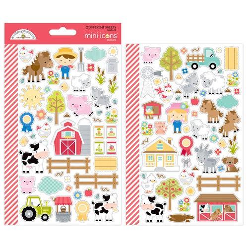 Down on The Farm - Mini Icons Stickers