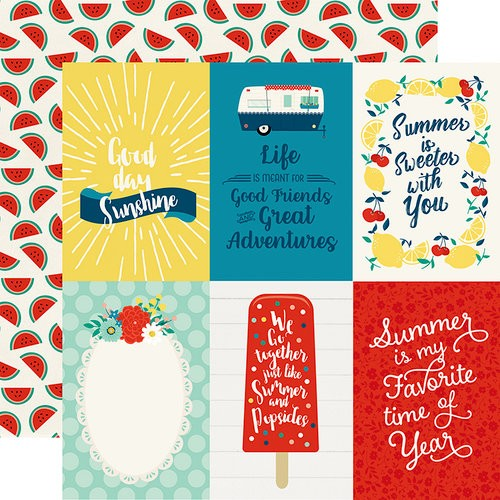 Good Day Sunshine - 4x6 Journaling Cards