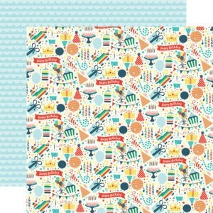 Liebe Papier - Happy Birthday - Border Strips