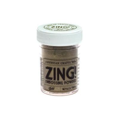 Zing! Embossing Powder - Gold - Metallic Finish