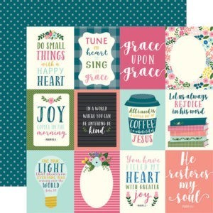 Liebe Papier - Have Faith - 3x4 Journaling Cards
