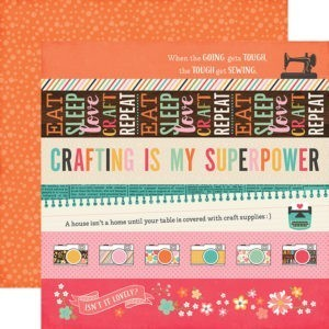 Liebe Papier - I'd Rather be Crafting - Border Strips