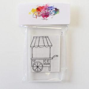 Liebe Papier - Goodies - Carimbo Carrinho de Sorteve