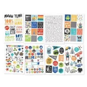 Liebe Papier - Lil' Dude - 4x6 Stickers