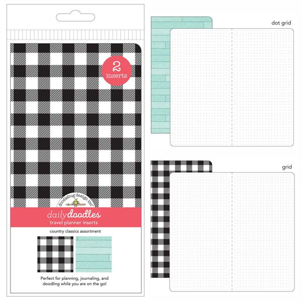 Down on The Farm - Travel Planner Inserts