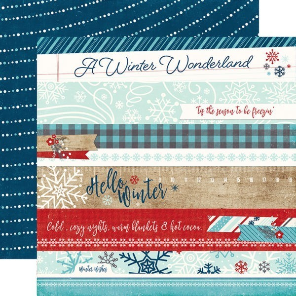 Liebe Papier - a Perfect Winter - Border Strips