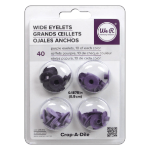 Liebe Papier - Wide Eyelets - Purple