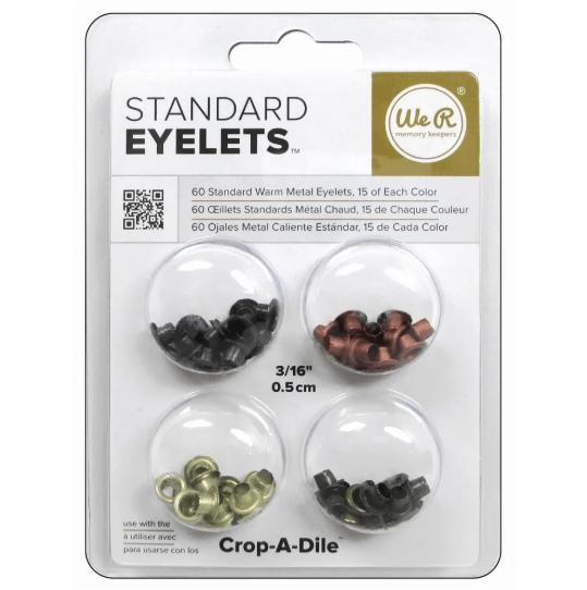 Standard Eyelets - Warm Metal