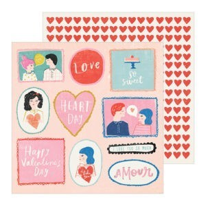 Liebe Papier - la la Love - Washi Tape