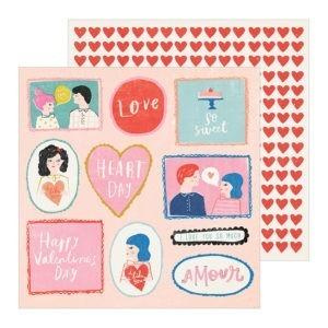 Liebe Papier - la la Love - Washi Tape