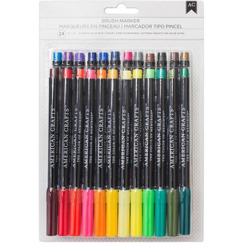 American Crafts - Brush Marker (marcador Tipo Pincel)