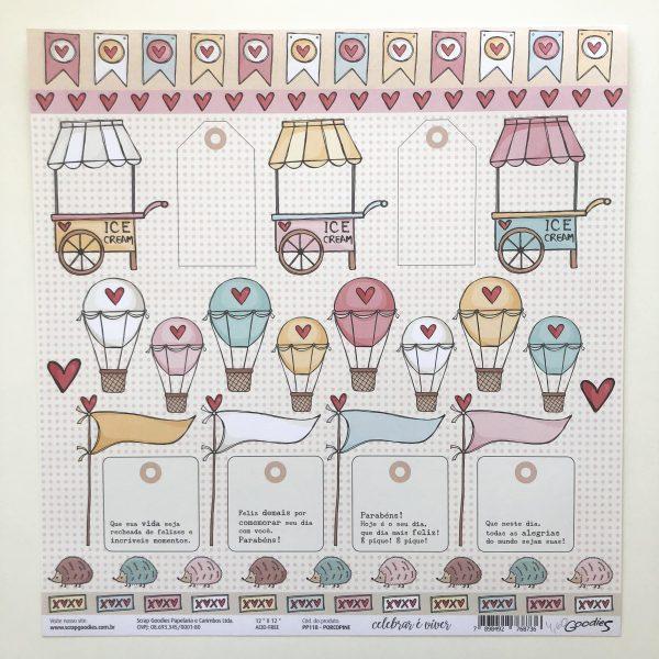 Liebe Papier - All Hearted - Clouds & Heart