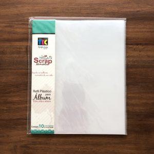 Liebe Papier - Album Scrap Momentos Pequeno Vermeleho