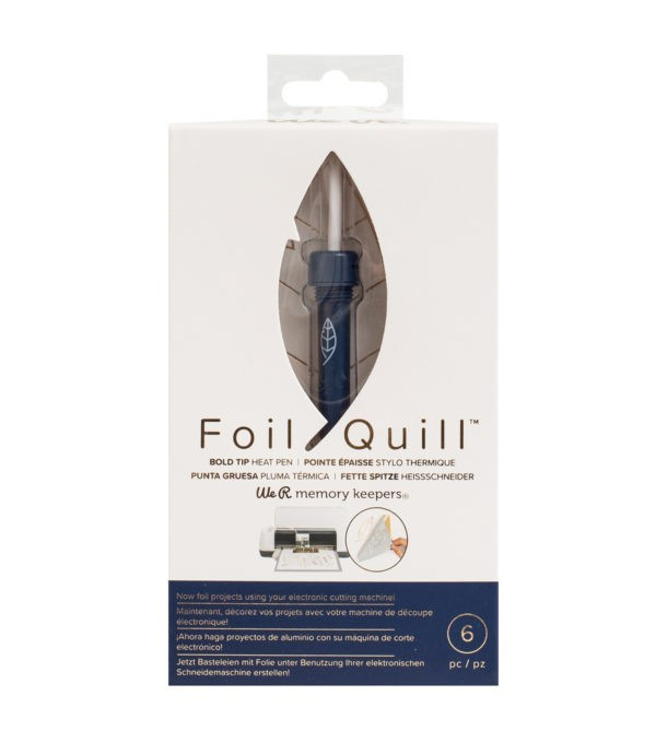 Liebe Papier - Foil Quill - Silver Foil Roll 12 x 96 Inch
