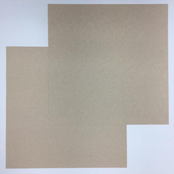Liebe Papier - Cardstock Smooth Kraft -  American Crafts