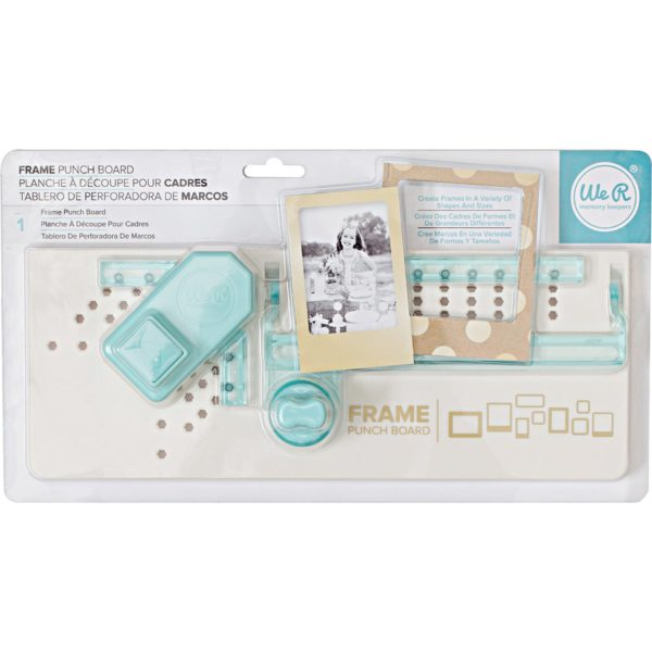 Liebe Papier - we r Memory Keepers -  Frame Punch Board