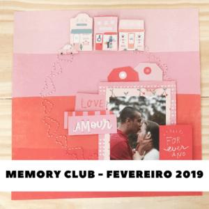 Liebe Papier - Curso Online - Memory Club - Fevereiro 2019