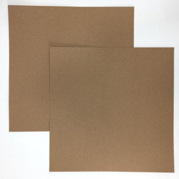 Liebe Papier - Cardstock Dark Kraft - American Crafts