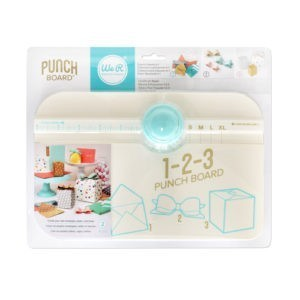 Liebe Papier - we r Memory Keepers - 123 Punch Board