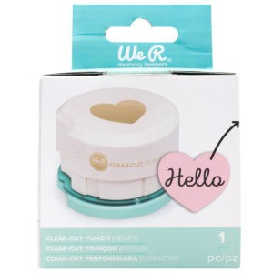 Liebe Papier - Clear-cut Punch (heart)