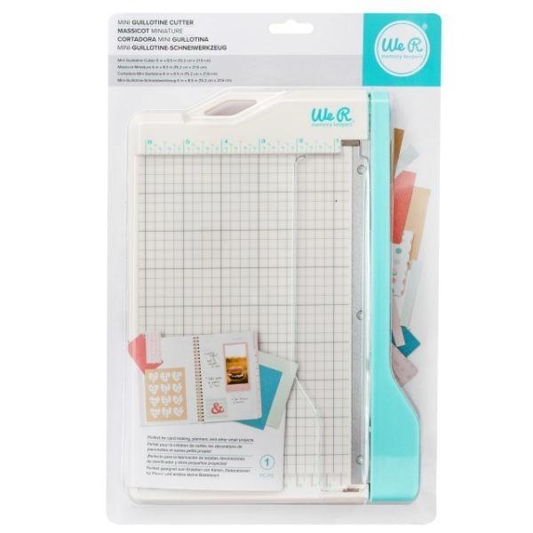 Liebe Papier - we r - Mini Guillotine Paper Cutter