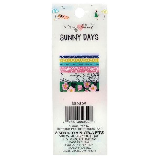 Sunny Days - Washi Tape Set