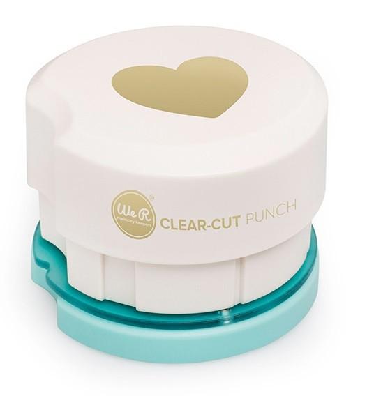 Clear-cut Punch (heart)
