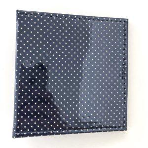Liebe Papier - Mini Álbum 13x14cm - Mary Jane Azul Marinho