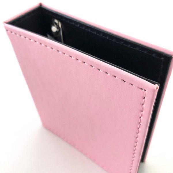 Mini Álbum 13x14cm - Rosa Claro