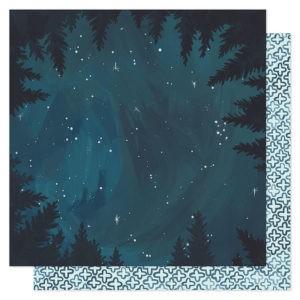 Liebe Papier - Goldenrod - Midnight Forrest
