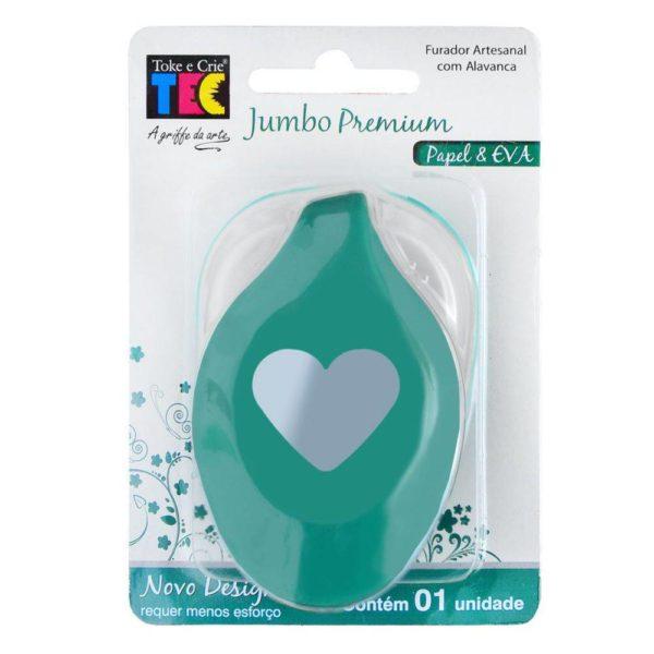Furador Jumbo Premium - Coração
