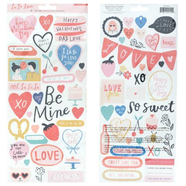la la Love - Stickers