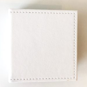 Liebe Papier - Mini Álbum 13x14cm - Branco Heart