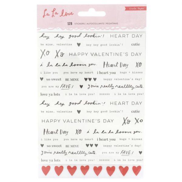 la la Love - Phrases Stickers