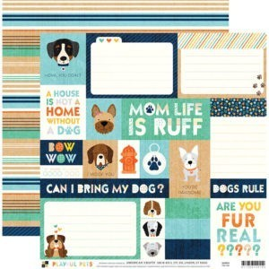 Liebe Papier - Playful Pets - Dog Tags