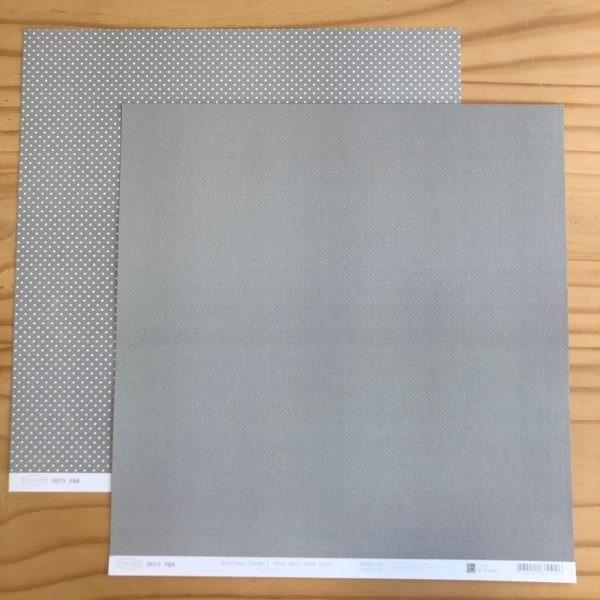 Liebe Papier - Dots - Bolinhas Chumbo